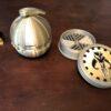 Interlocking Bounty Puck Grinder and Detonator Storage